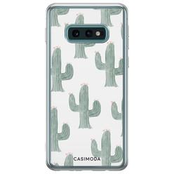 Samsung Galaxy S10e siliconen hoesje - Cactus print