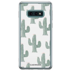 Samsung Galaxy S10e siliconen telefoonhoesje - Cactus print