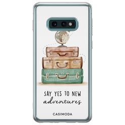 Samsung Galaxy S10e siliconen hoesje - Wanderlust