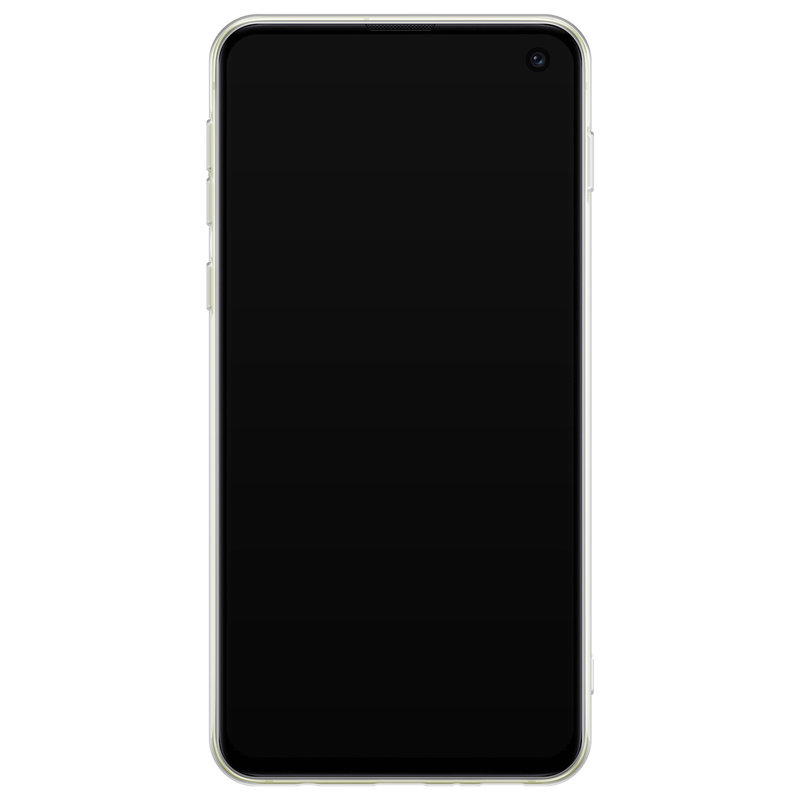 Casimoda Samsung Galaxy S10e siliconen hoesje - Wanderlust