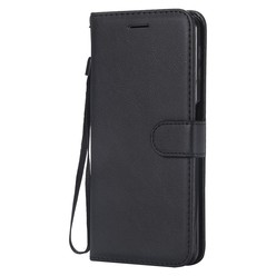Samsung Galaxy A7 2018 - Zwart wallet case