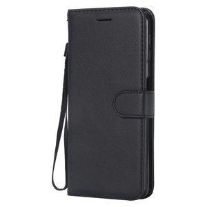 Samsung Galaxy A7 2018 - Zwart wallet case