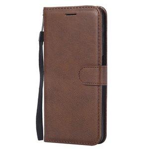 Samsung Galaxy A7 2018 - Bruine wallet case