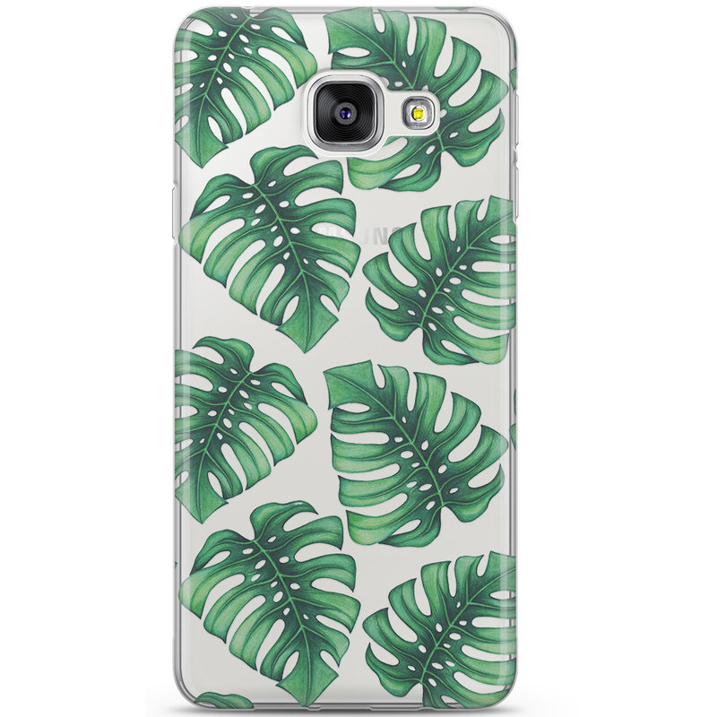 Samsung Galaxy A3 2016 siliconen hoesje - Palm leaves