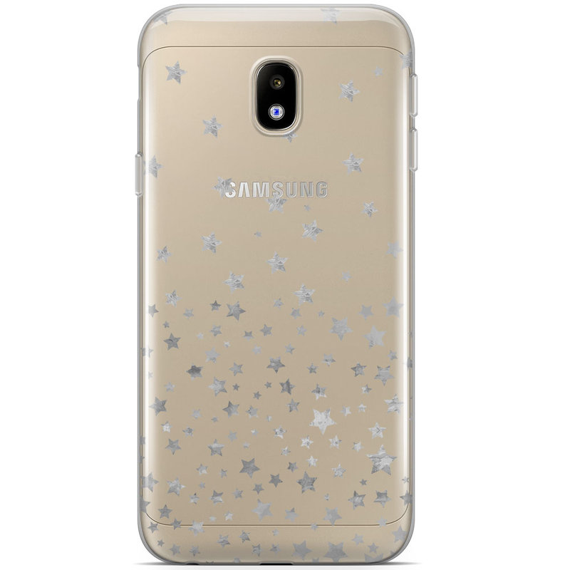 Samsung Galaxy J5 2017 siliconen hoesje - Falling stars