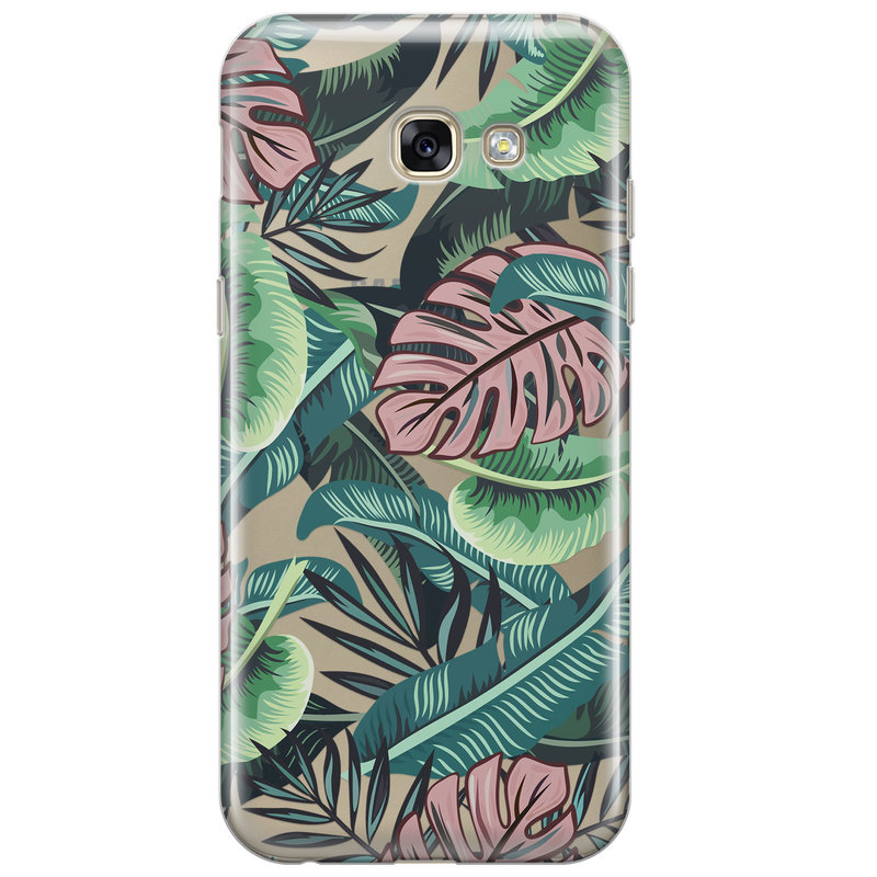 Samsung Galaxy A3 2017 transparant hoesje - Jungle
