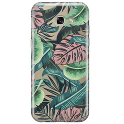 Samsung Galaxy A5 2017 transparant hoesje - Jungle