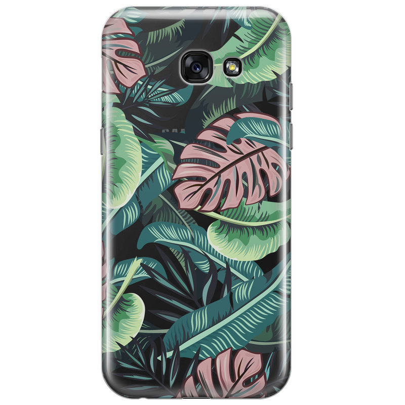 Samsung Galaxy A5 2017 transparant hoesje - Jungle
