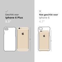 iPhone 6(s) Plus siliconen hoesje - Badass babe