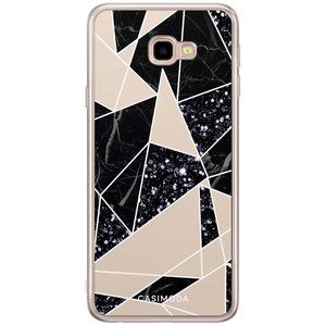Casimoda Samsung Galaxy J4 Plus siliconen hoesje - Abstract painted