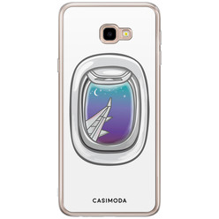 Casimoda Samsung Galaxy J4 Plus siliconen hoesje - Travel life