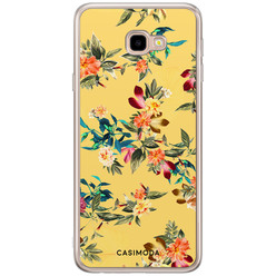 Casimoda Samsung Galaxy J4 Plus siliconen hoesje - Floral days