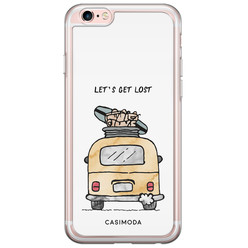 Casimoda iPhone 6/6s siliconen hoesje - Let's get lost