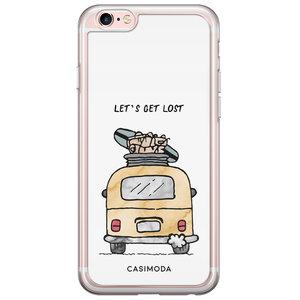 Casimoda iPhone 6/6s siliconen hoesje - Let's get lost