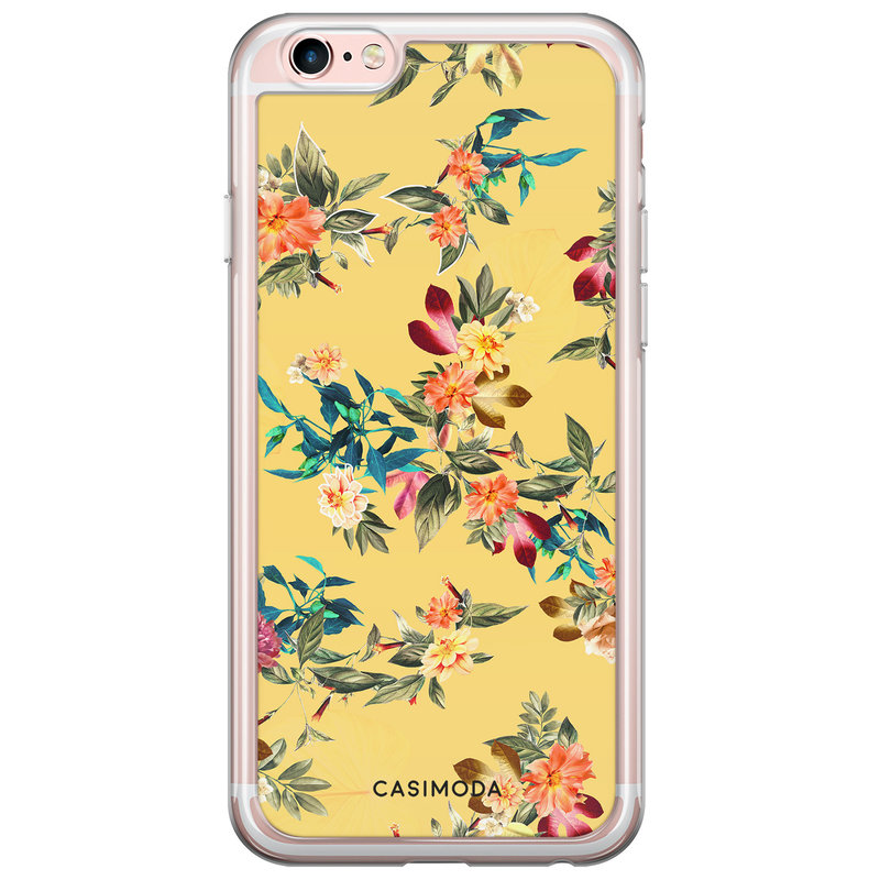 iPhone 6/6s siliconen hoesje - Floral for days