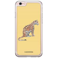iPhone 6/6s siliconen hoesje - Leo wild