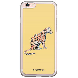 Casimoda iPhone 6/6s siliconen hoesje - Leo wild