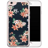 iPhone 6/6S siliconen hoesje - Elegance bloom