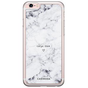 iPhone 6/6S siliconen hoesje - Carpe diem