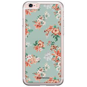iPhone 6/6s siliconen hoesje - Floral garden