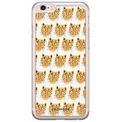 Casimoda iPhone 6/6s siliconen hoesje - Leopard heads