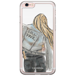 Casimoda iPhone 6/6s siliconen hoesje - GRL PWR