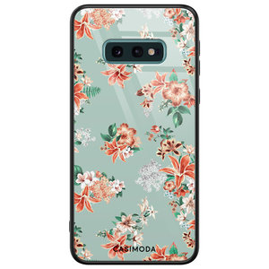 Casimoda Samsung Galaxy S10e glazen hardcase - Lovely flowers