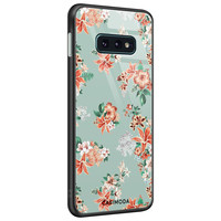 Casimoda Samsung Galaxy S10e glazen hardcase - Lovely flowers