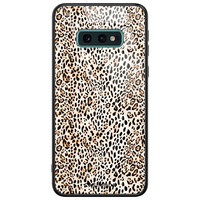 Casimoda Samsung Galaxy S10e glazen hardcase - It's a zoo out there