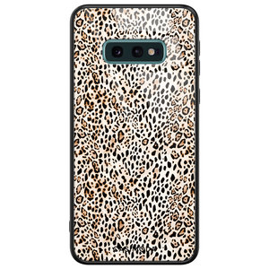 Casimoda Samsung Galaxy S10e glazen hardcase - It's a zoo out there