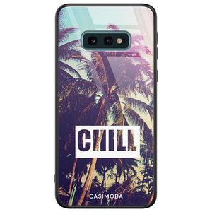 Casimoda Samsung Galaxy S10e glazen hardcase - Chill