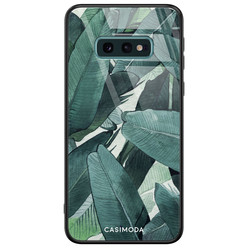 Casimoda Samsung Galaxy S10e glazen hardcase - Jungle