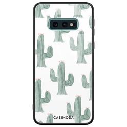 Casimoda Samsung Galaxy S10e glazen hardcase - Cactus print