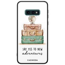Casimoda Samsung Galaxy S10e glazen hardcase - Wanderlust