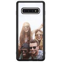 Casimoda Samsung Galaxy S10 glazen hoesje - Hardcase met foto
