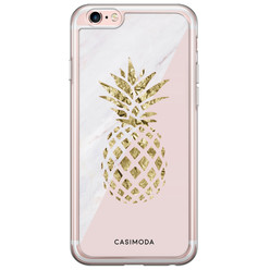 iPhone 6/6S siliconen hoesje - Ananas