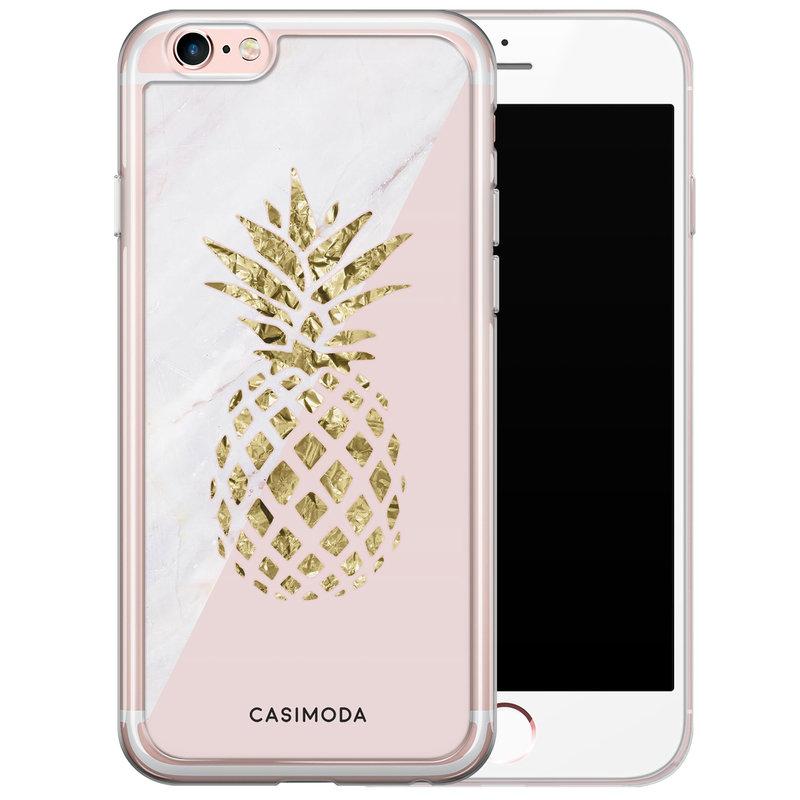 Casimoda iPhone 6/6S siliconen hoesje - Ananas
