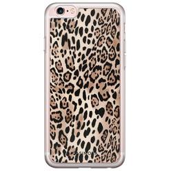iPhone 6/6s siliconen hoesje - Golden wildcat