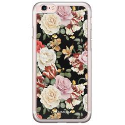 iPhone 6/6s siliconen hoesje - Flowerpower