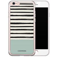 Casimoda iPhone 6/6s siliconen hoesje - Stripes on stripes