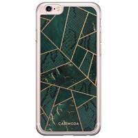 Casimoda iPhone 6/6s siliconen hoesje - Abstract groen