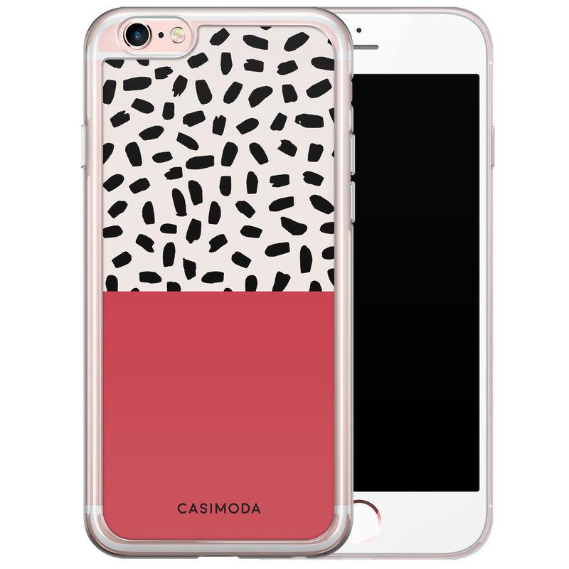 Casimoda iPhone 6/6s siliconen hoesje - Confetti