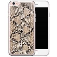 Casimoda iPhone 6/6S siliconen hoesje - Python print