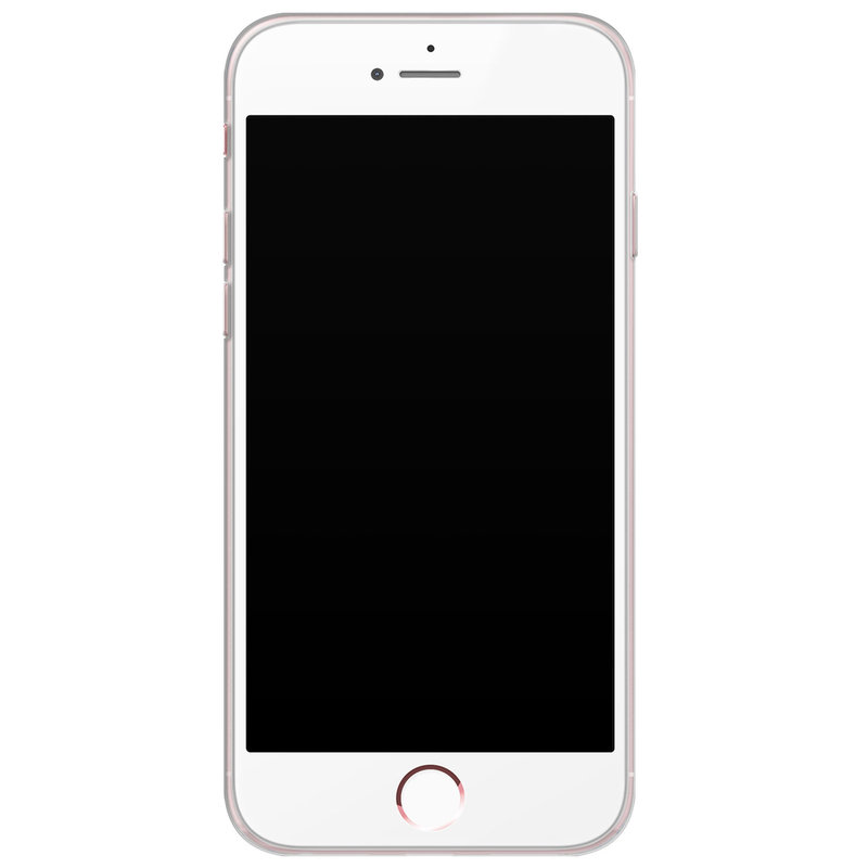Casimoda iPhone 6/6S siliconen hoesje - Turquoise marmer
