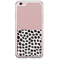 Casimoda iPhone 6/6S siliconen hoesje - Pink dots