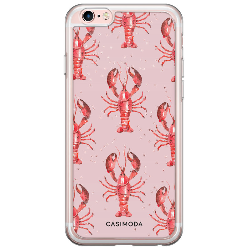 Casimoda iPhone 6/6s siliconen hoesje - Lobster all the way