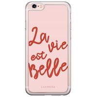 Casimoda iPhone 6/6s siliconen hoesje - La vie est belle
