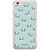 Casimoda iPhone 6/6S siliconen hoesje - Panda print