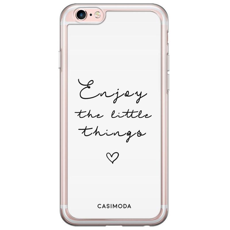 iPhone 6/6s siliconen hoesje - Enjoy life