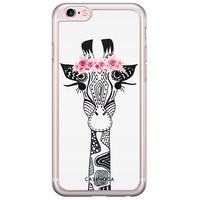 Casimoda iPhone 6/6S siliconen hoesje - Giraffe